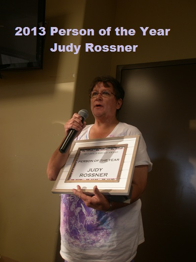 Judy Rossner 2013 Person of the Year